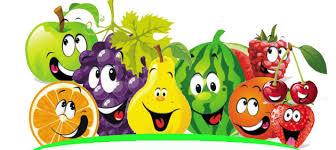 Fruta en la escuela