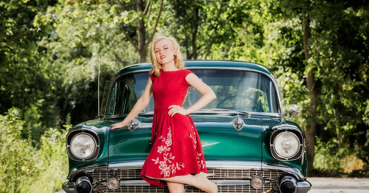 photographer michael suhl vintage classic cars and girls