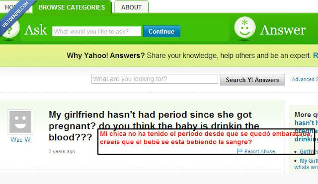 preguntas absurdas de yahoo respuestas