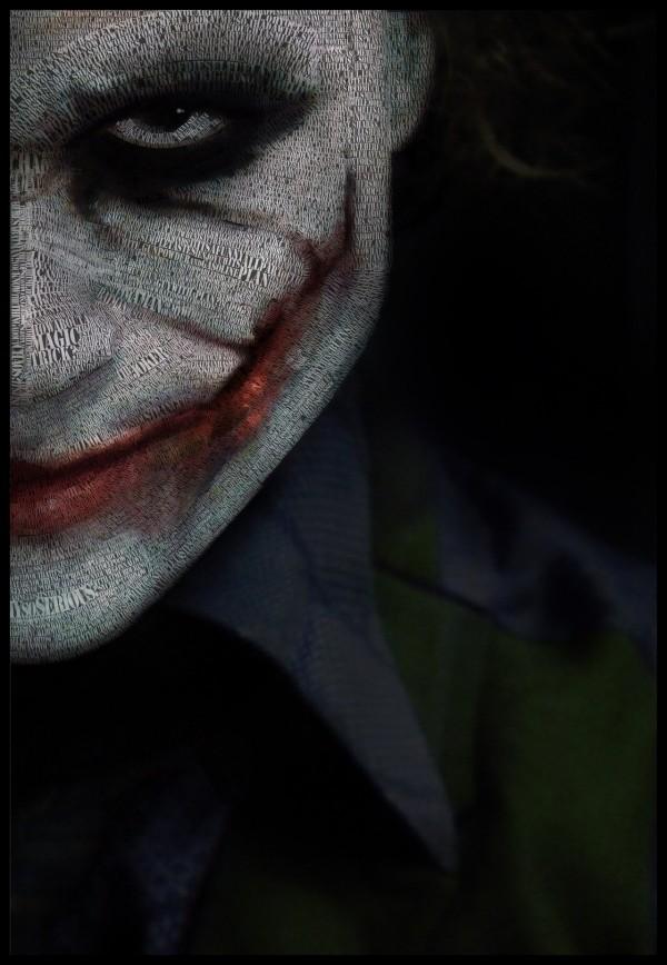 Conteng2Kreatif: 67 Lukisan Watak Joker Dengan Gaya Berlainan