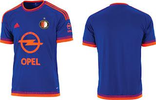 berita bola musim depan jersey musim depan Jersey Tandang Feyenoord 2015/2016 enkosa sport