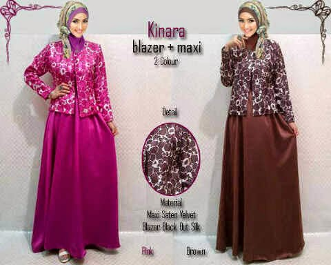 Material wide satin velved + blackout silky blazer (Bahan Bagus). Fit to XL