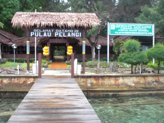 Pulau Pelangi Kepulauan Seribu