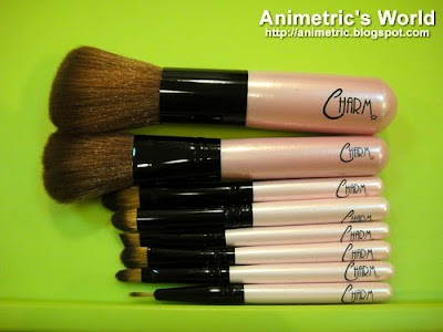 Charm Luxe Holiday Brush Set from Beauty & Minerals