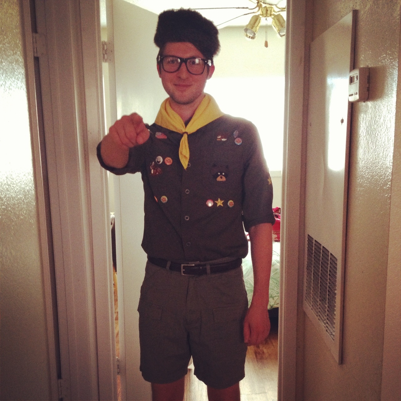 Moonrise Kingdom Costume Sam Shakusky  sc 1 st  Records u0026 Grammar & Records u0026 Grammar: Moonrise Kingdom Costume: Sam Shakusky