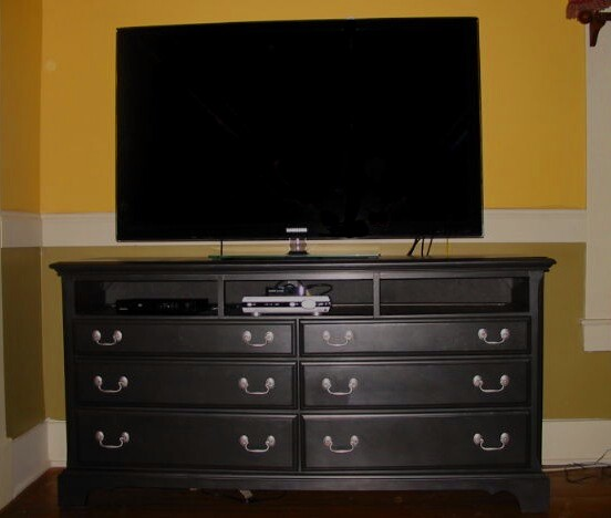 Journey To Living A Creative Life From Dresser To Tv Stand