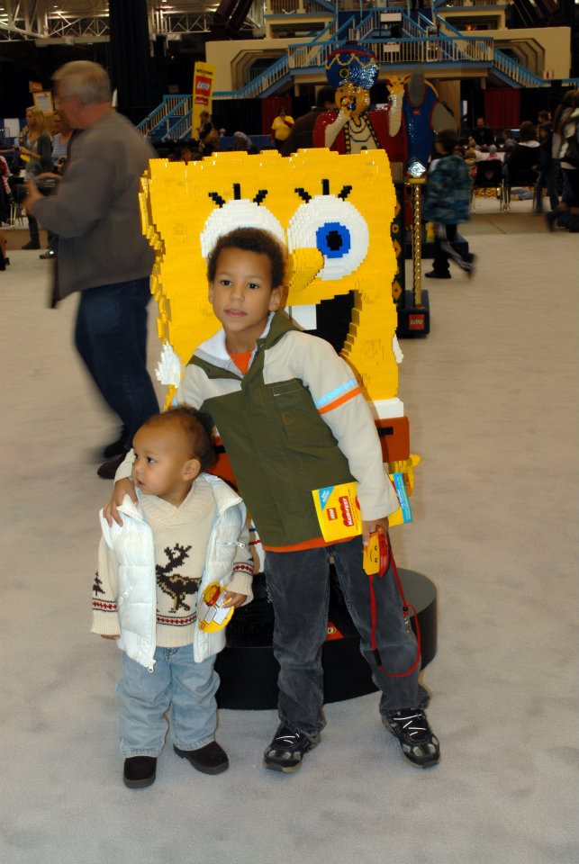 Pictures from Lego KidsFest Cleveland 2011 @mryjhnsn | Spongebob Lego