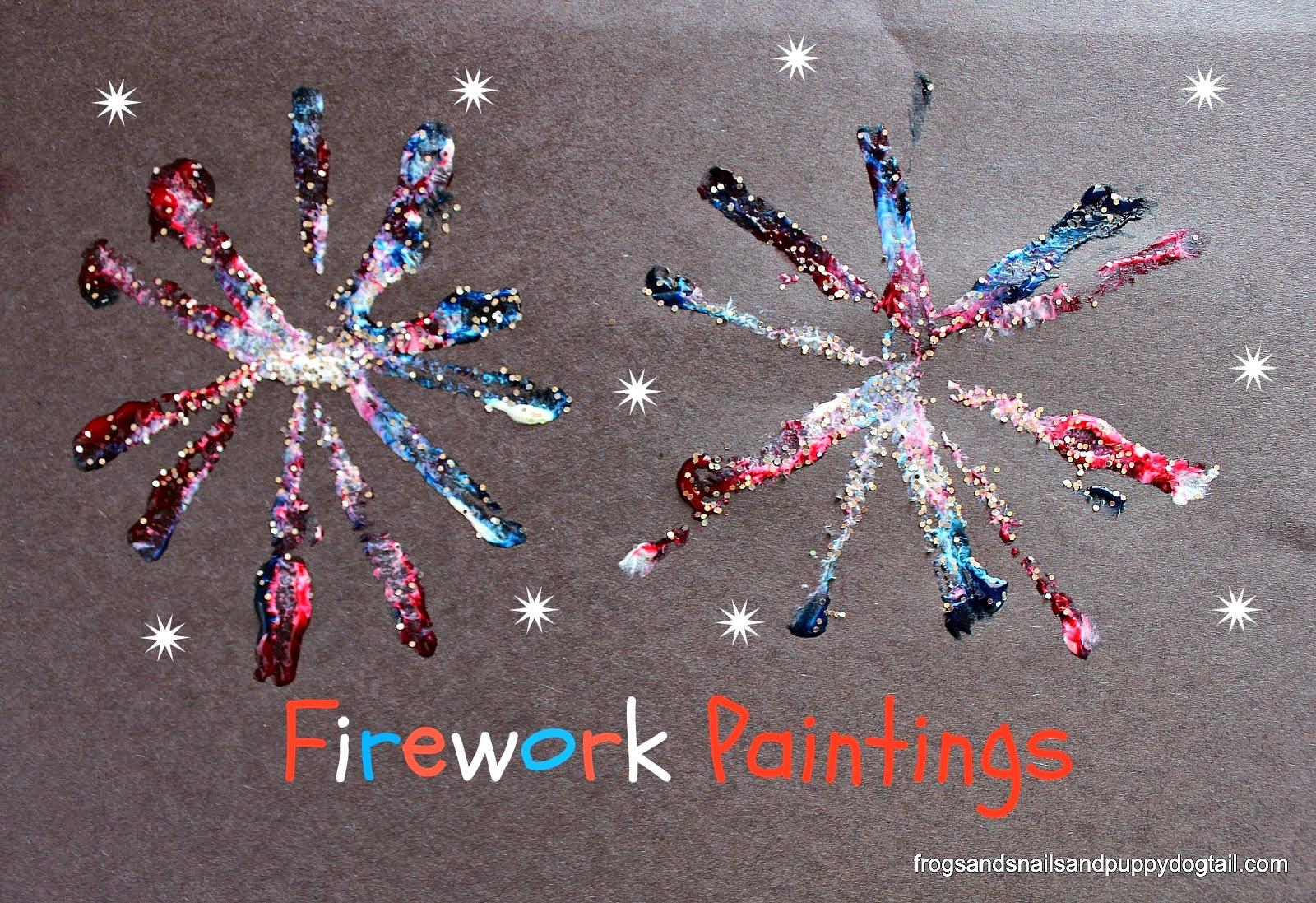 http://www.frogsandsnailsandpuppydogtail.com/2014/05/firework-paintings.html