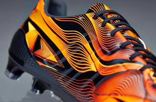 Adidas 11Pro Crazylight FG with Neon Orange