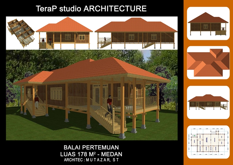 rumah papan submited images