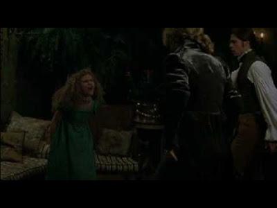 Claudia enojada en Entrevista con el Vampiro