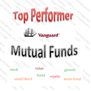 YTD Top Performer Vanguard Mutual Funds of 2012 logo