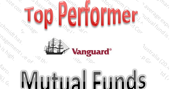 Ytd Top Performer Vanguard Mutual Funds July 3 2012