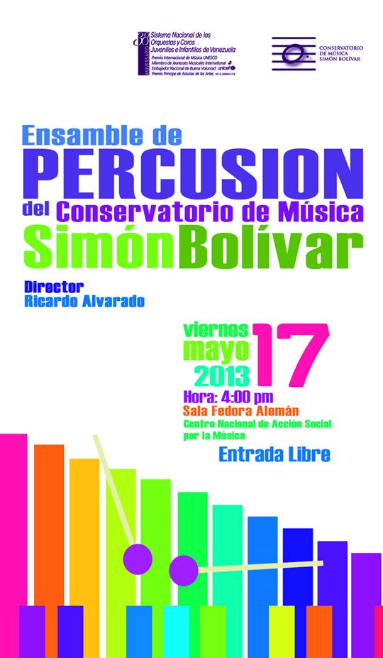 Conservatorio de m sica sim n bol var en concierto for Conservatorio simon bolivar blog