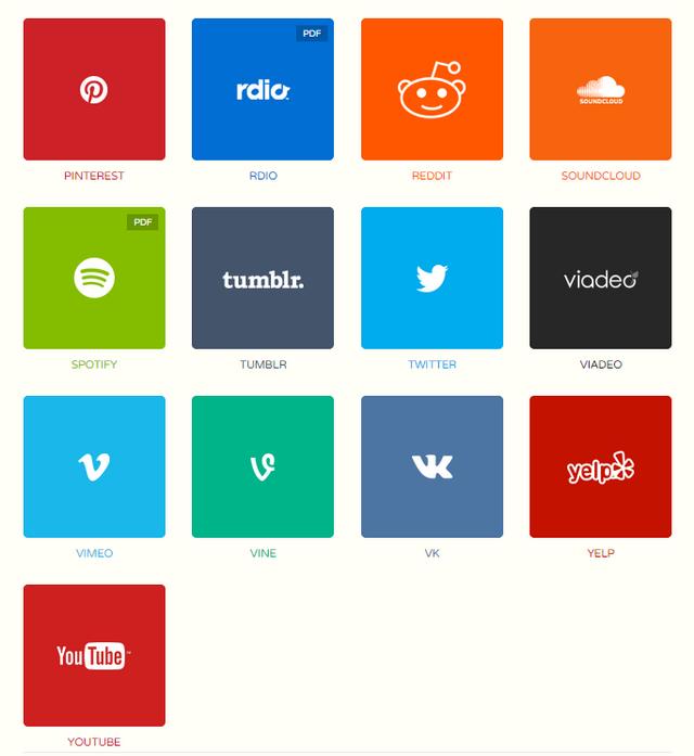Manuais de identidade visual das principais redes sociais