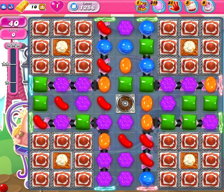 Candy Crush Saga 1256