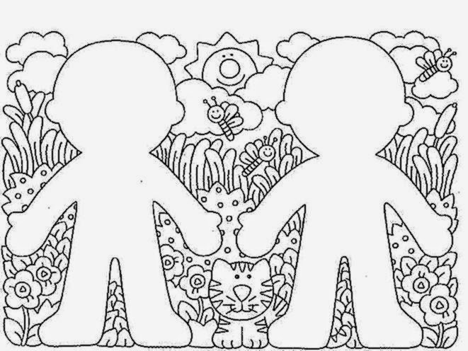 preschool coloring pages free coloring sheet