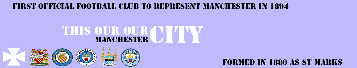 This is our City - Manchester City Blog, news, views, rumor, info