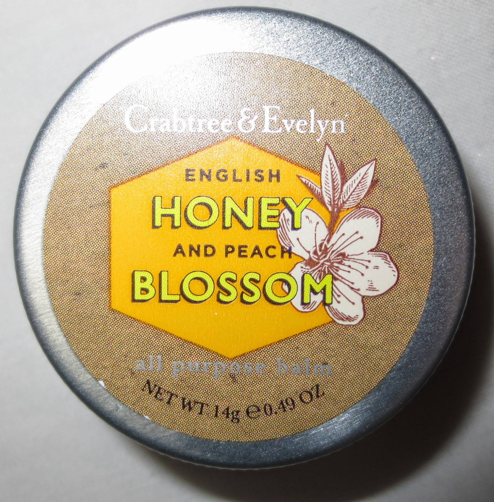 Crabtree & Evelyn English Honey & Peach Blossom All Purpose Balm