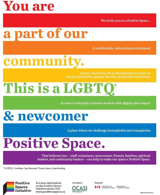 Positive Spaces Initiative