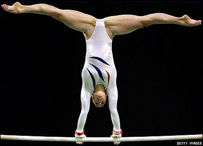 Gymnastics are stupid. No offense to anyone who is currently taking ...