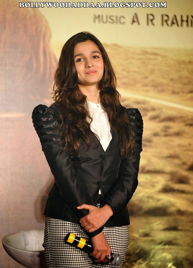 "Alia Bhatt :Alia Bhatt At the promotion of her recent released film ""HIGHWAY"" (HD Photos)"