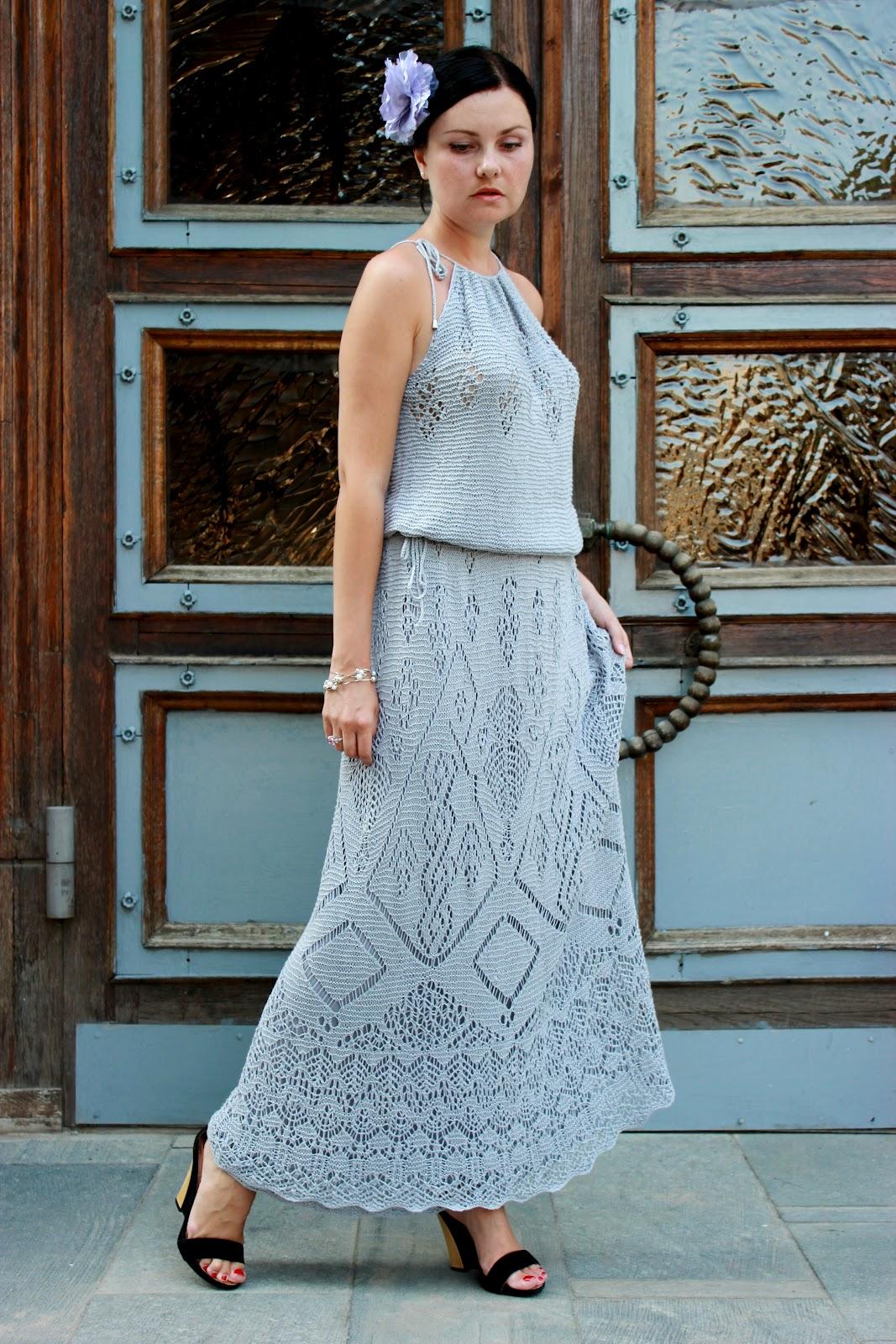 Платье атлантида спицами