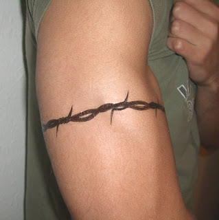 Barbed Wire Tattoo Design Photo Gallery - Barbed Wire Tattoo Ideas