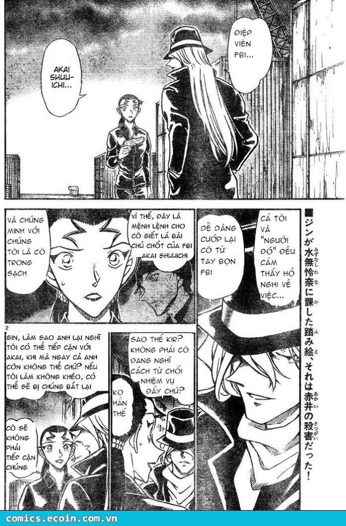 Detective Conan - Thám Tử Lừng Danh Conan chap 607 page 2 - IZTruyenTranh.com