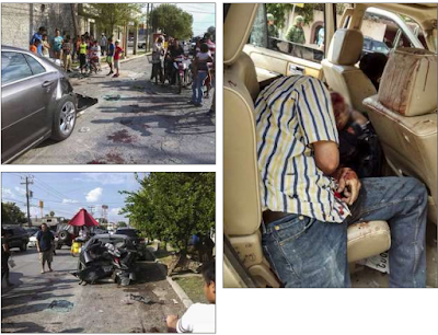Borderland beat shootout in downtown nuevo laredo leaves 6 dead