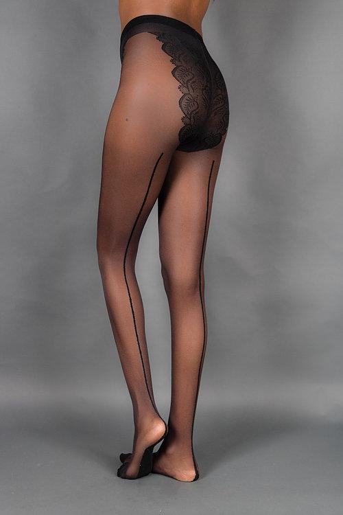 bikini panties over pantyhose
