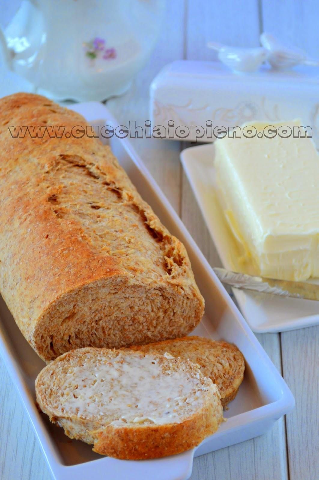 pão integral delicioso