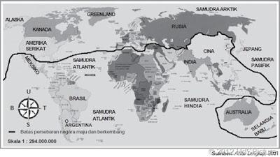 Peta dan Daftar Negara Maju di Dunia