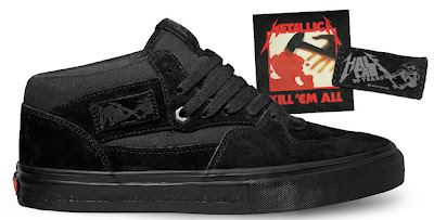 Vans Metallica 20th Anniversary Half Cab Shoes