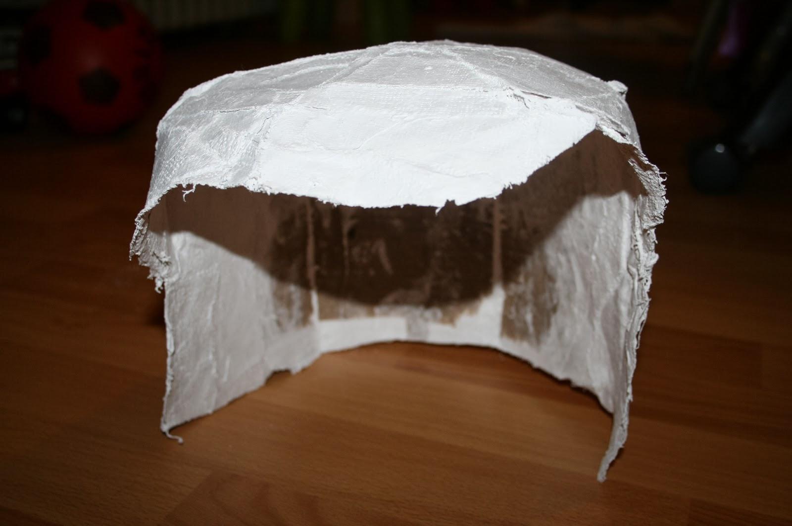 les diy de fishounette casque de chevalier en platre. Black Bedroom Furniture Sets. Home Design Ideas