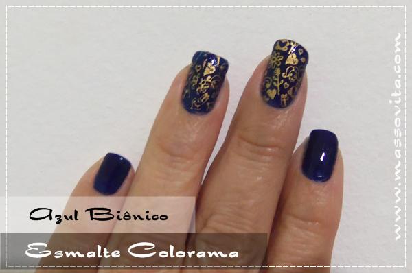 Azul Biônico da Colorama