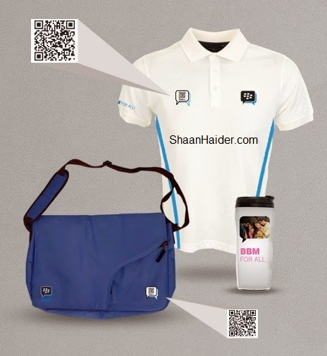 BlackBerry is Giving Away Guaranteed BBM Customized Merchandise T Shirt, Sling Bag and Coffee Sipper... Get Yours Now