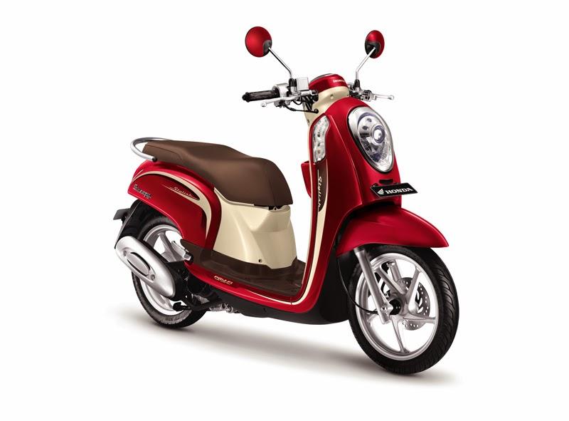 daftar harga sepeda motor honda scoopy fi 2014