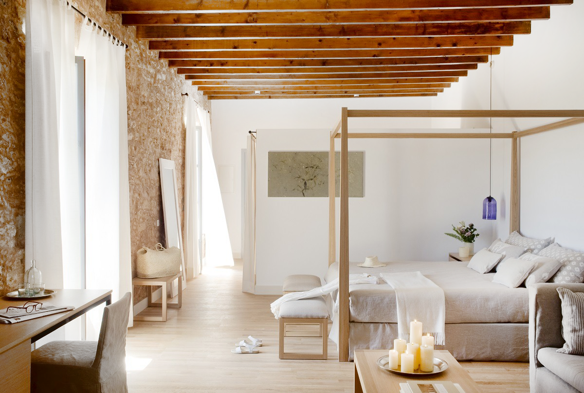 Chicdeco blog stylish rustic chic hotel in spain for Rustic hotels near me