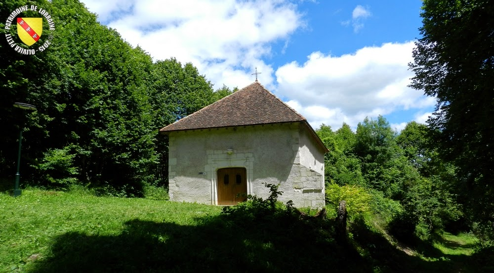 ALLAMPS (54) - Chapelle Notre-Dame des Gouttes (XVIe-XVIIe siècles)