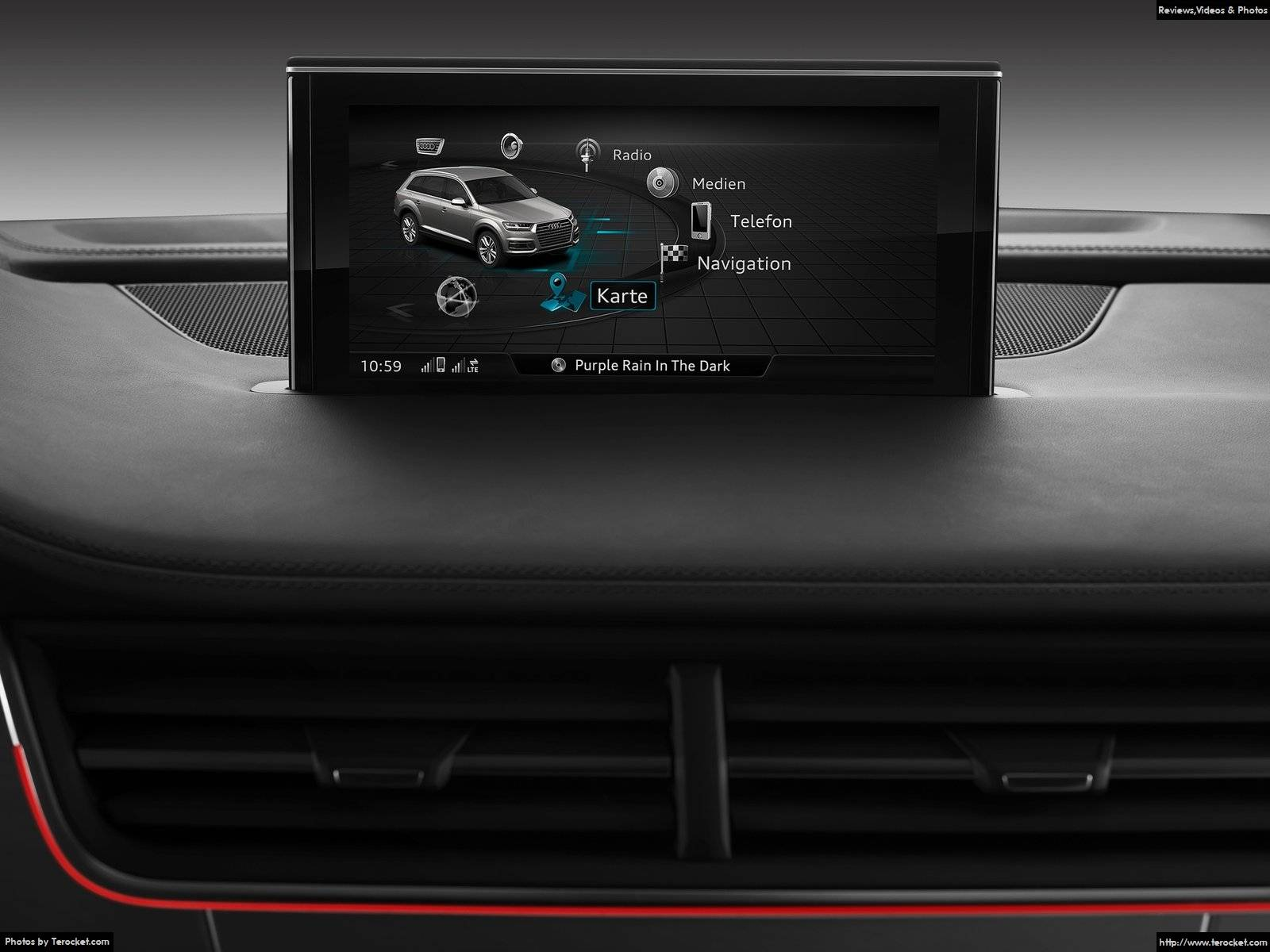 Hình ảnh xe ô tô Audi Q7 2016 & nội ngoại thất