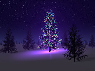 Artificial Christmas tree wallpapers