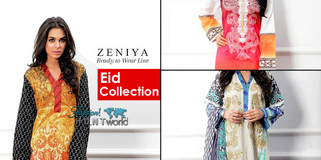 Zeniya Ready To Wear - Eid Collection 2015