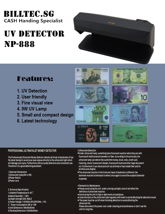professional currency detector