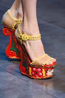 Обувки на платформа Dolce & Gabbana