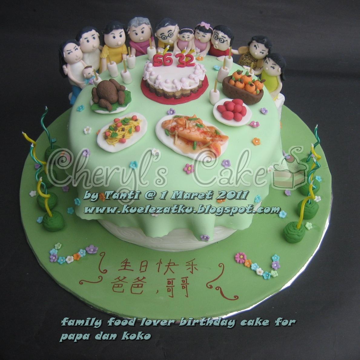 Birthday Cake: Table