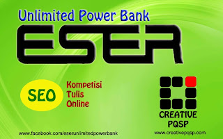 Seo Kompetisi Tulis Online ESER Power Bank