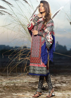 Sana Safinaz winter shawl collection
