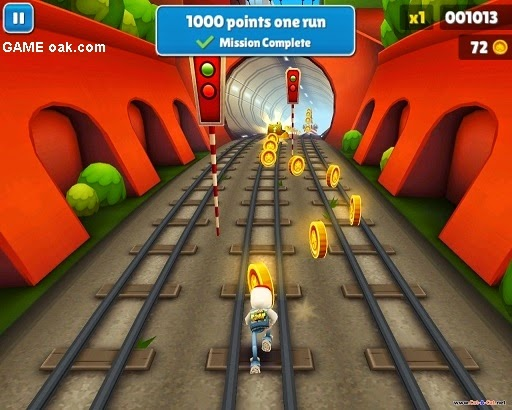 Subway surfers free game for android
