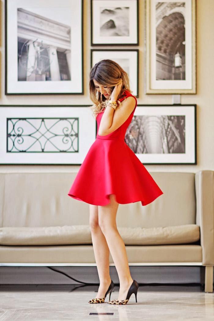Mi Clichu00e9 Crea tu outfit Vestido rojo